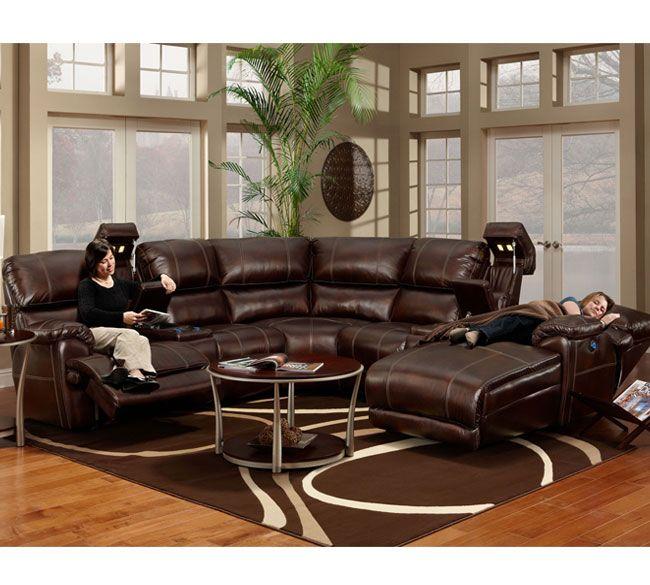Amazing Basement Furniture · Franklin 572 Presley Sectional ...