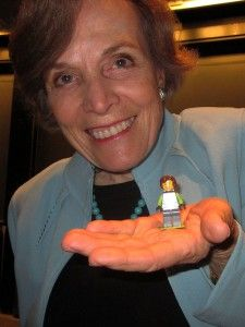 Sylvia Earle y su figura LEGO