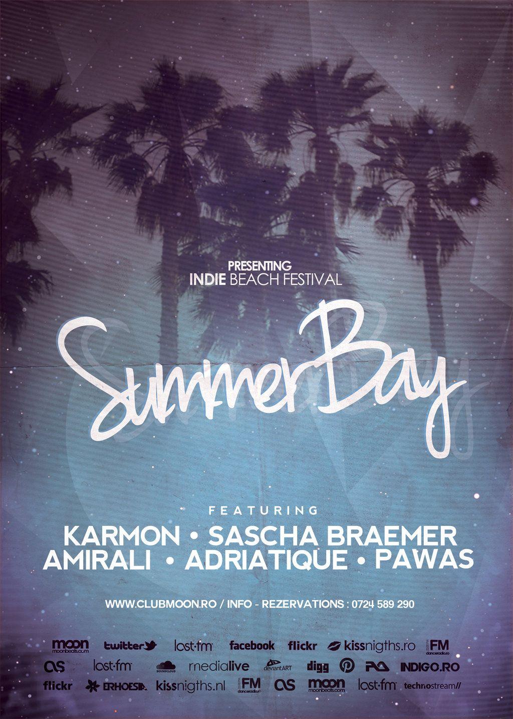 Summer Flyer Template by DusskDeejay deviantart com on