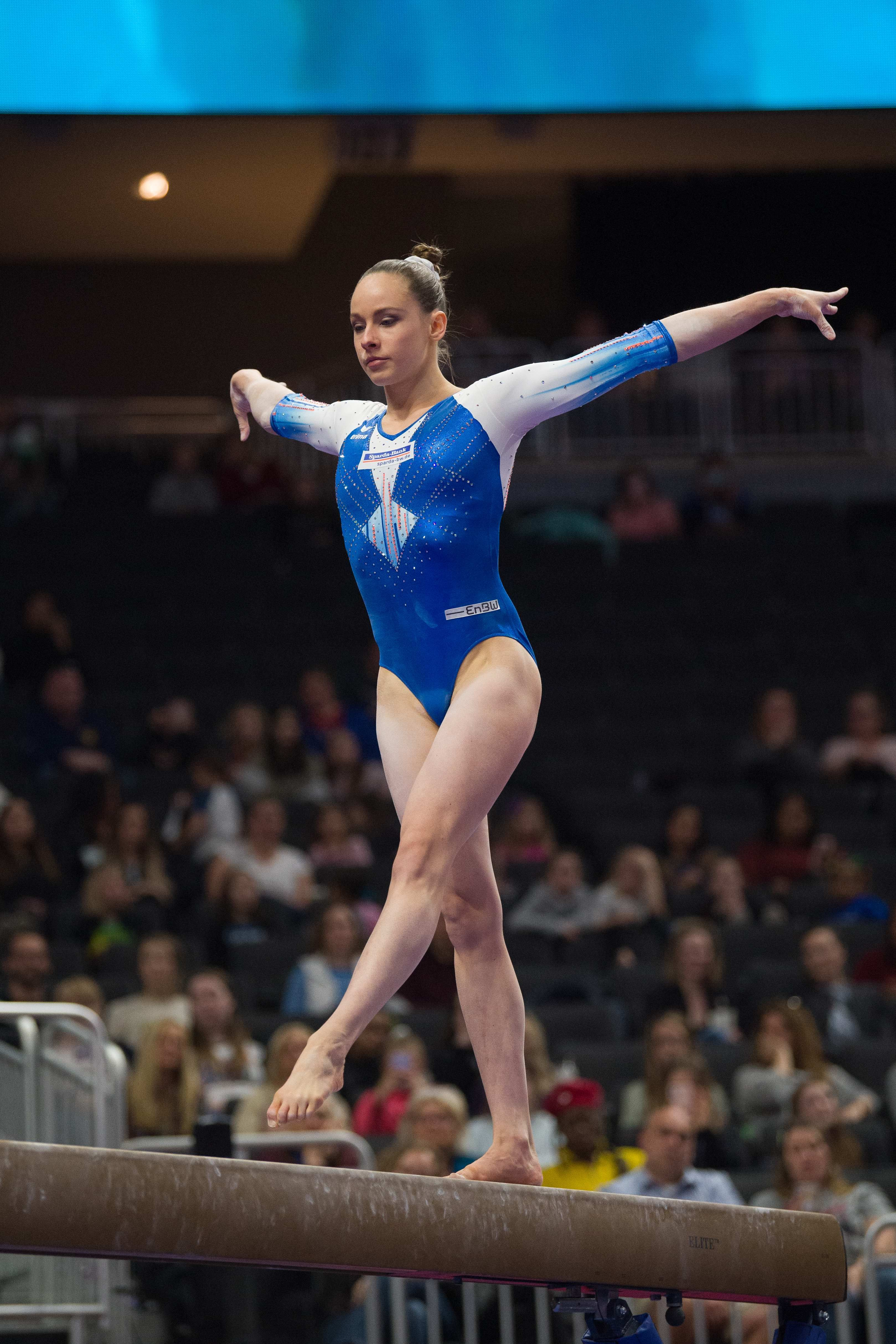 Sarah Voss In 2020 Gymnastics Photos Gymnastics Artistic Gymnastics