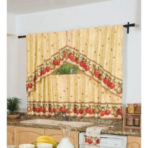Lenceria para la cocina buscar con google lenceria de - Cortinas de cocinas ideas ...