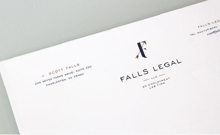 Falls Legal Branding and Stationery Branding Pinterest Brand - legal letterhead template