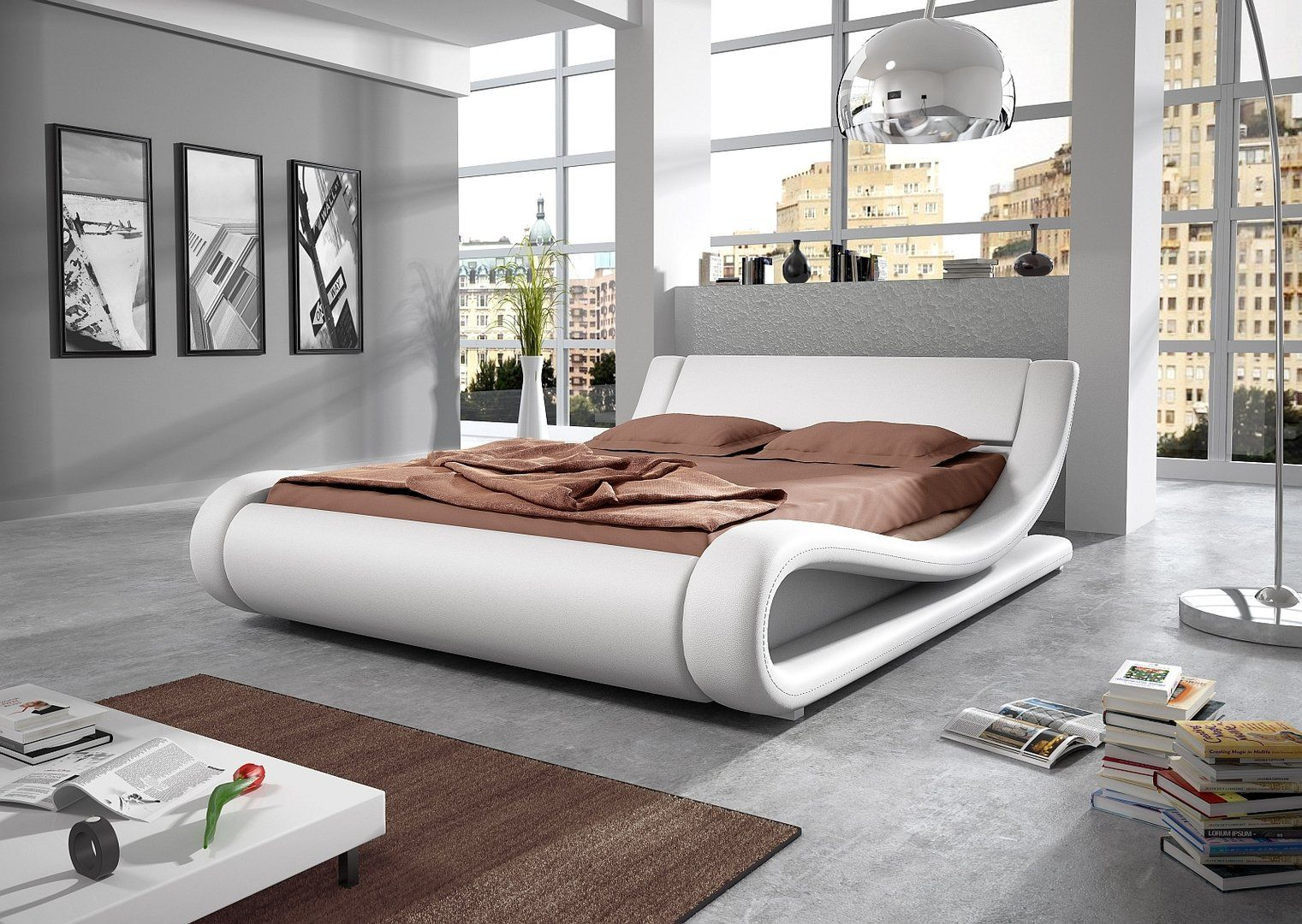 How to Choose Pictures for Bedroom   Unique bed design ...