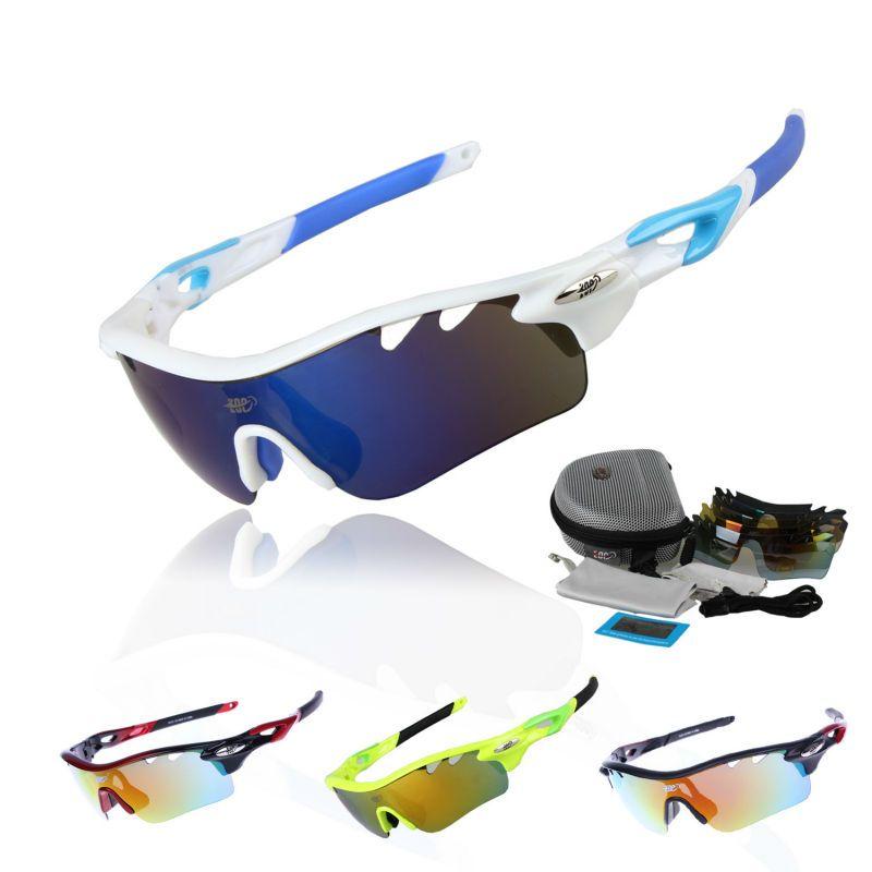 8a2011aeb1 COMAXSUN Professional Polarized Cycling Glasses Bike Goggles Fishing  Outdoor Sports Sunglasses UV 400 5 Lens TR90 STS801 4 Color
