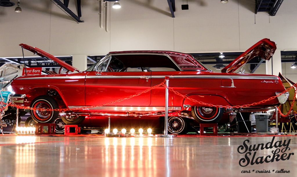 Red On Red 1962 Impala At The Las Vegas Super Show Www