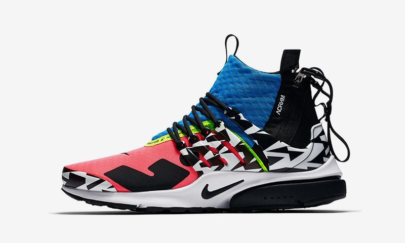 best sneakers 1e400 6d80f How  Where to Buy the ACRONYM x Nike Air Presto Mid Pack on September 20
