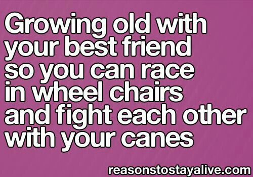 Getting Old Together Quotes: Friends Quotes Growing Old Together. QuotesGram