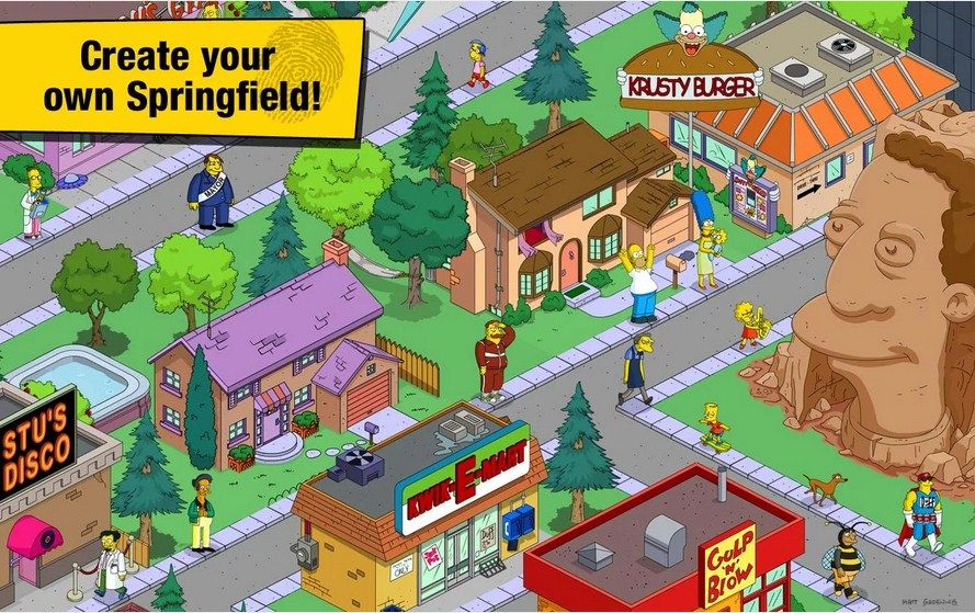The Simpsons Tapped Out latest version 4.9.5 APK file is