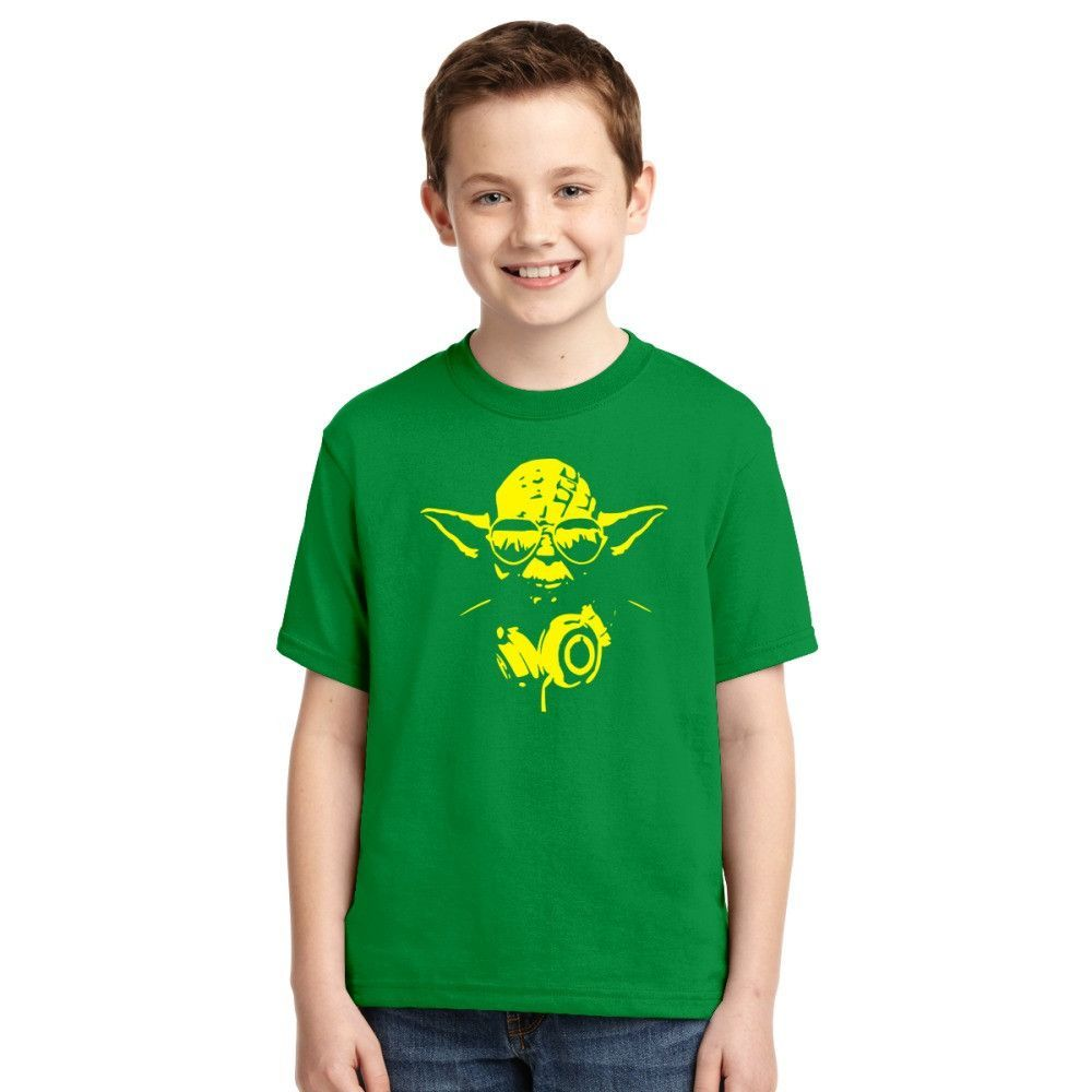 Yoda Is Cool Youth T-shirt