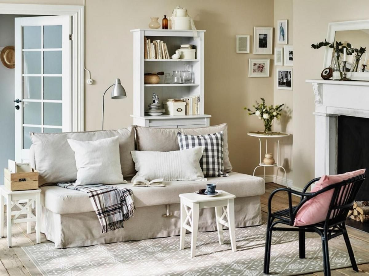Inexpensive Cottage Style Living Room Furniture From IKEA ...