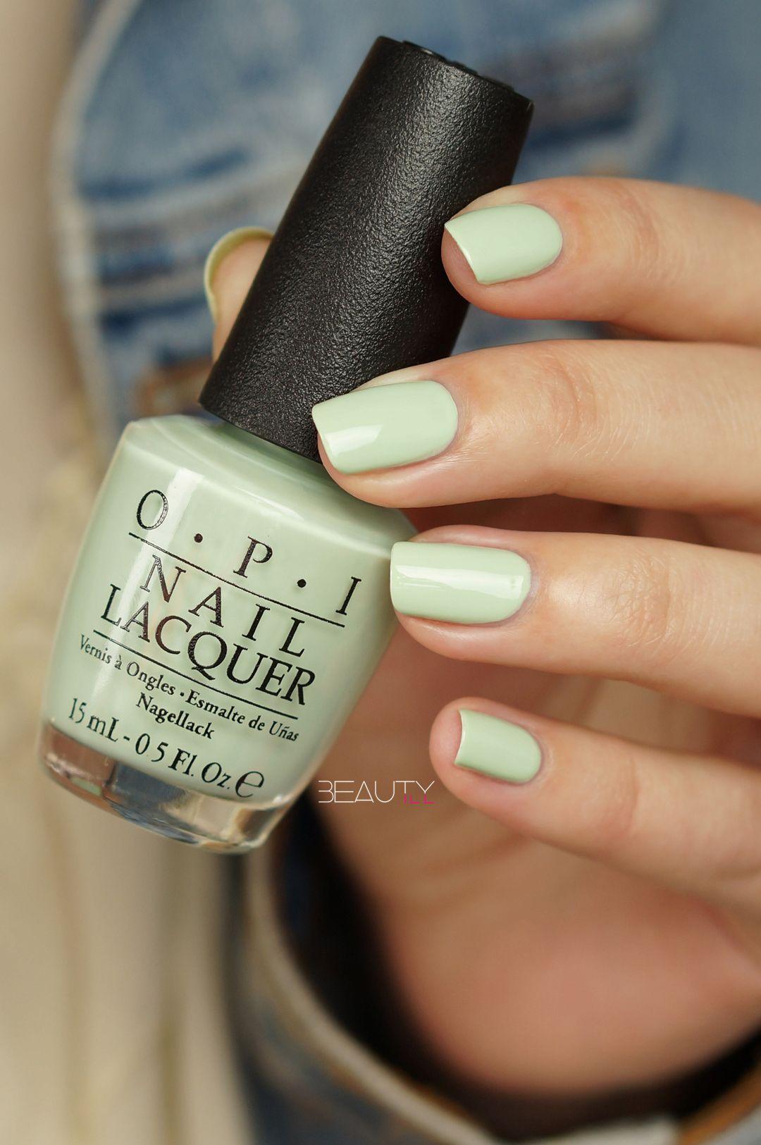 opi-This Cost Me a Mint (1) | Nails | Pinterest | Esmalte, Pintauñas ...