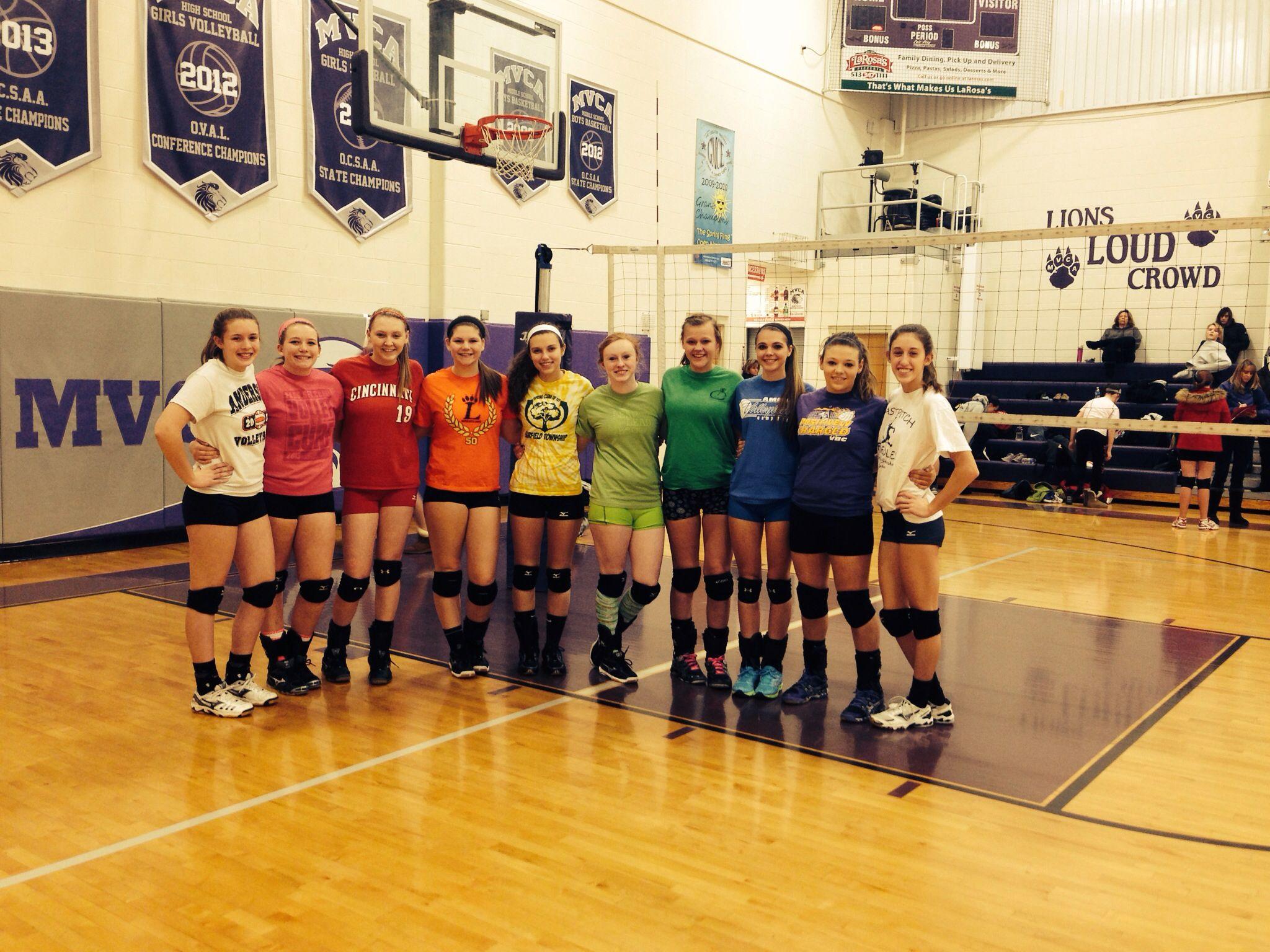 Volleyball Team Volleyball Club Team Rainbow Volleyball Team Volleyball Teams