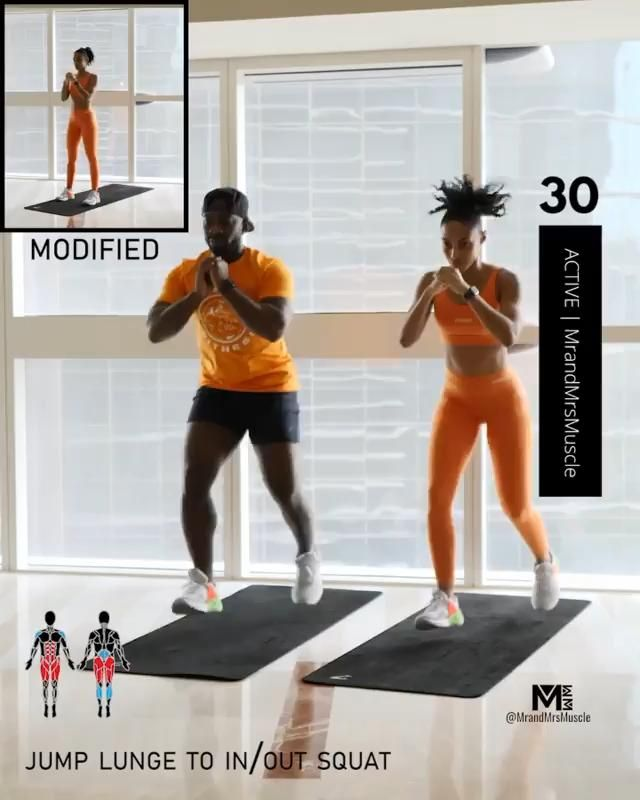 BOOTY & LEGS HIIT Workout For at Home #quarantinew