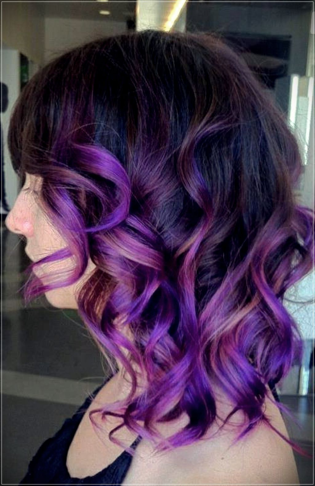 Some Useful Ombre Hair Ideas For Short Hair Short And Curly Haircuts Ombre Curly Hair Blue Hair Highlights Ombre Hair Color
