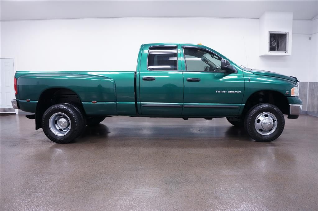Dodge 1 Ton Dually 2003 Dodge Ram 3500 Slt Dually 4x4 Dodge Trucks Ram Dodge Diesel Trucks Dodge Diesel