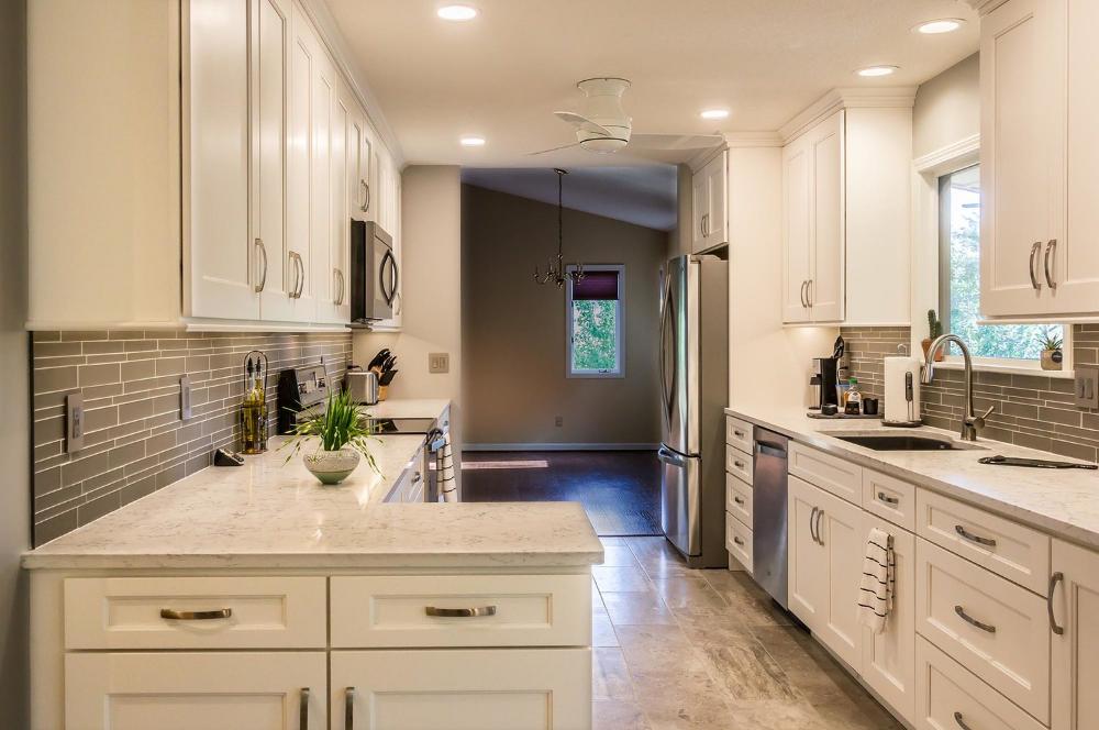 Asheville Galley Kitchen Remodel — HomeSource Design