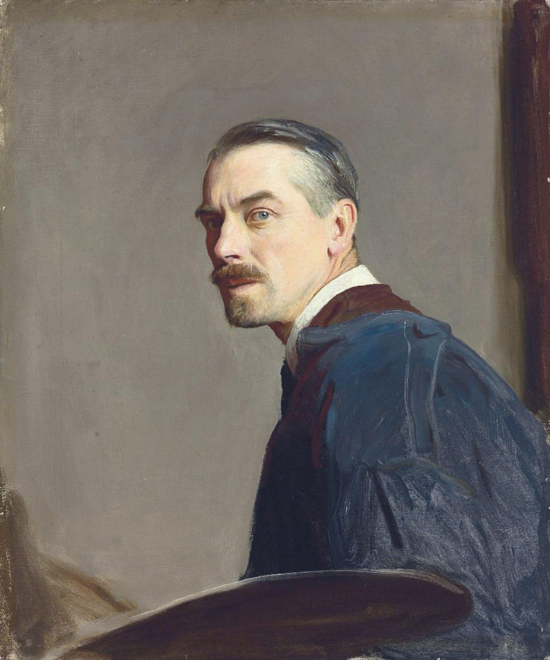 George Spencer Watson (1869-1934) - Self-portrait.