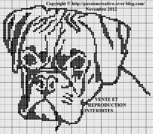 Pixel Art Chien Boxer