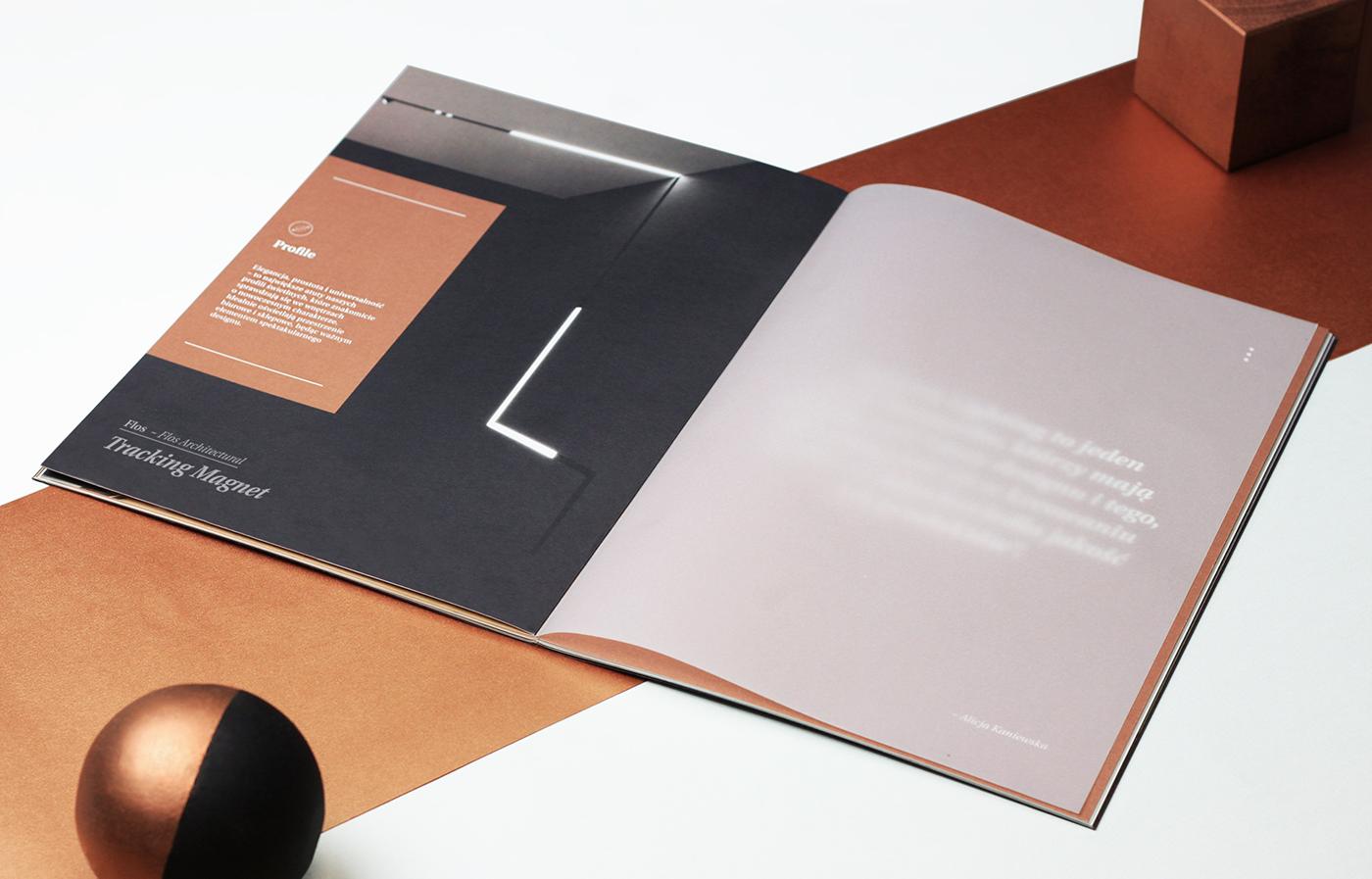 Spectra Lighting Catalog Design On Behance H 画册