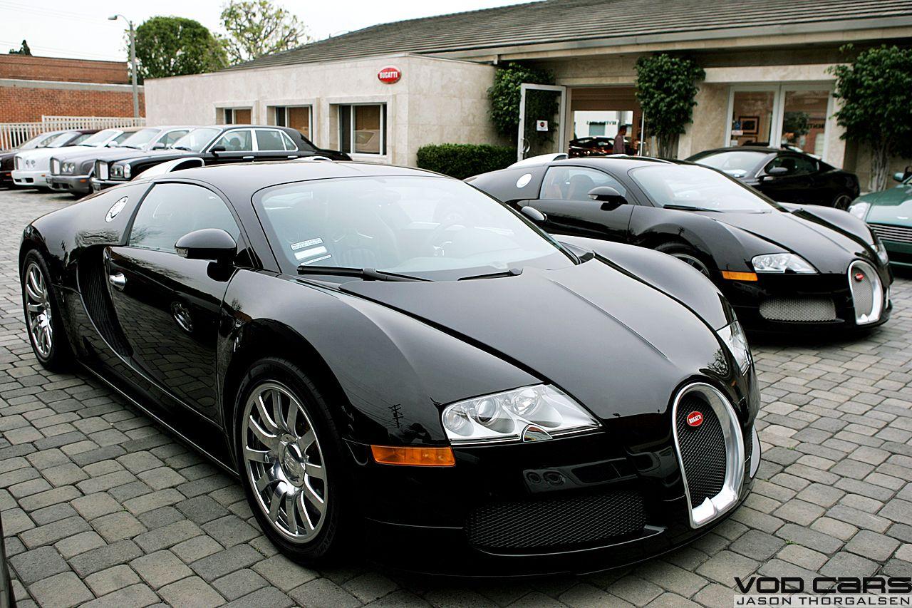 Bugatti 2007 EB Veyron 16.4 BLACK US Spec