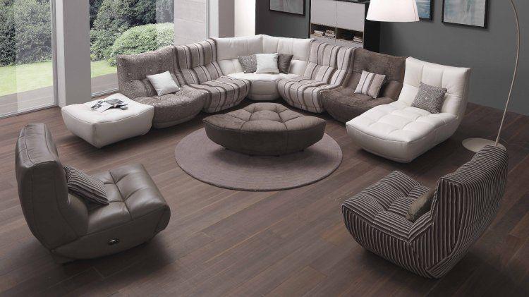 Divani E Divani Chateau D Ax.Silhouette Sectional Sofa With Recliner Chateau D Ax Sectional Sofa