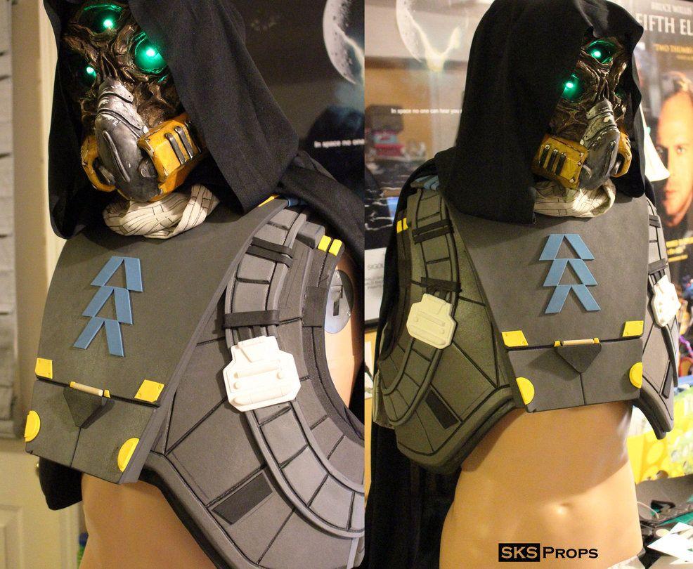 Destiny Hunter Chest Armor WIP 2 by SKSProps on DeviantArt