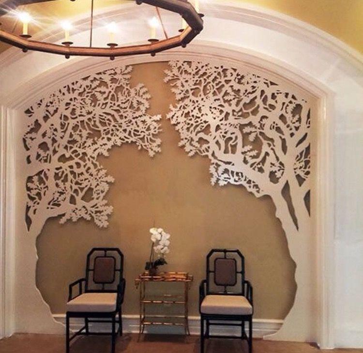 Pingl par kamal doshi sur artworks pinterest deco bois et decoration for Deco laser maison
