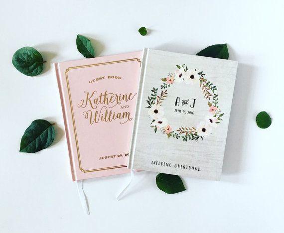 Libro de fotos recuerdo de boda personalizado por BGregoryDesign