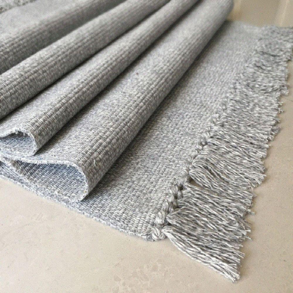 Winlife Cotton Blending Fiber Carpets Decorative Area Rugs For Living Room Bedroom Entrance Doormat Bedside Rugs Washable Mats In 2020 Washable Area Rugs Area Rug Decor Rugs In Living Room