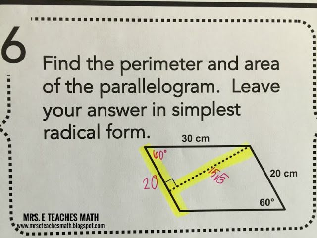 Correcting Math Misconceptions - finding the base and height of triangles in geometry