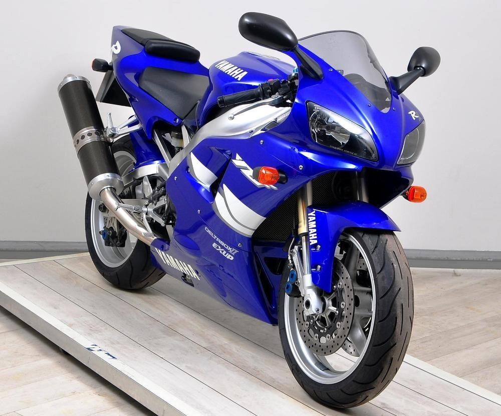 Ebay 1999 T Yamaha Yzf R1 Supersport Blue Under 16000