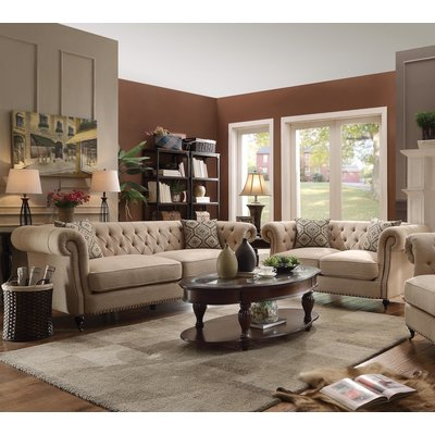 Darby Home Co Oribe 2 Piece Living Room Set Couches Living Room