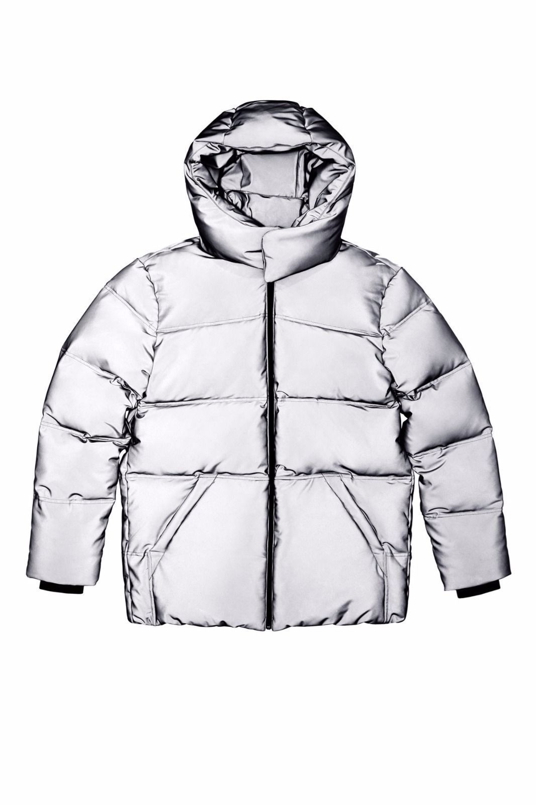 Alexander Wang x H&M Mens Reflective Down Jacket Size S
