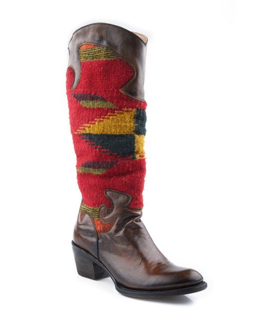 b033d33ee8 Stetson Boots Women's Antique Tan Red Serape Boot Boot. Loving these boots  alot.