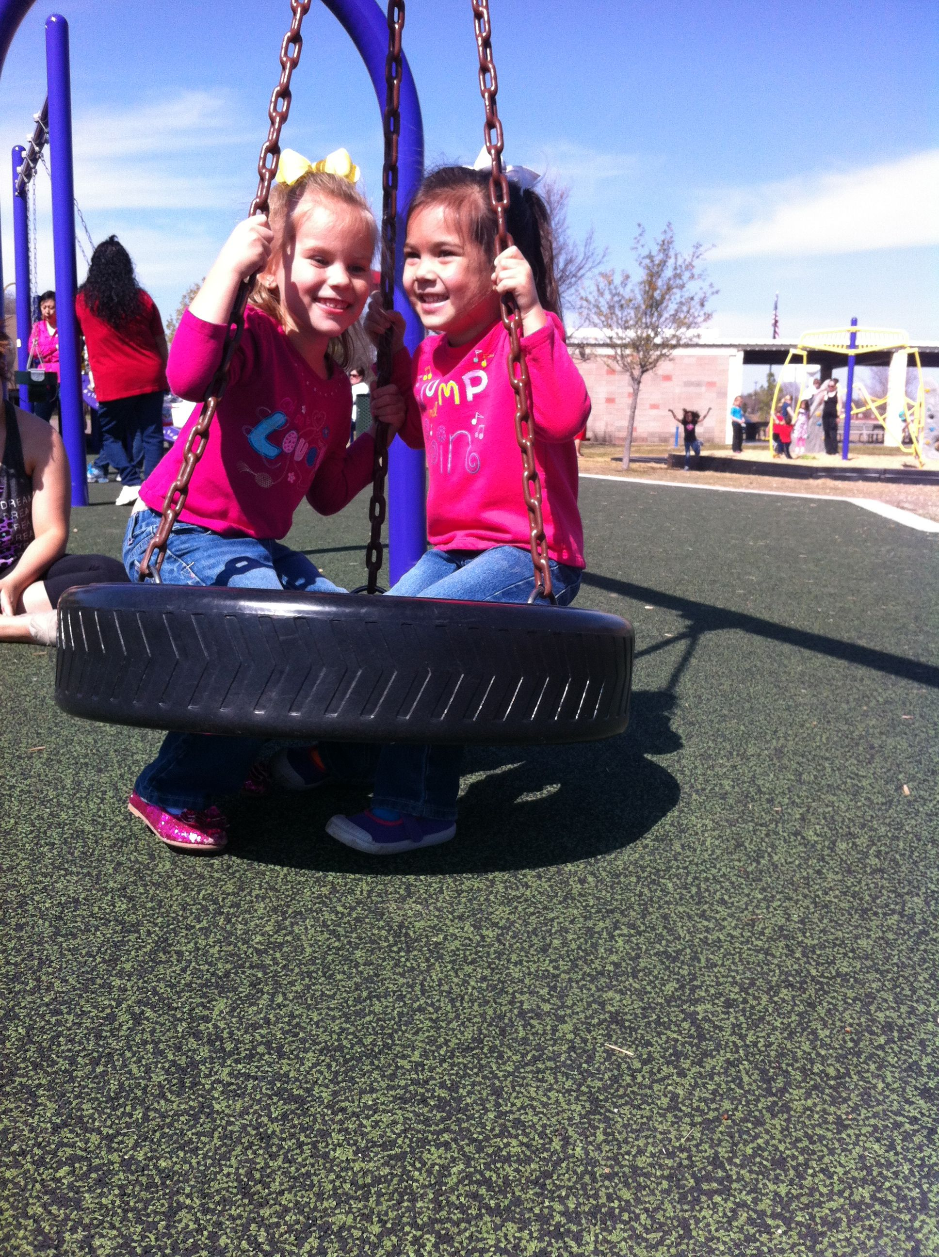 Park day with my twinkies!