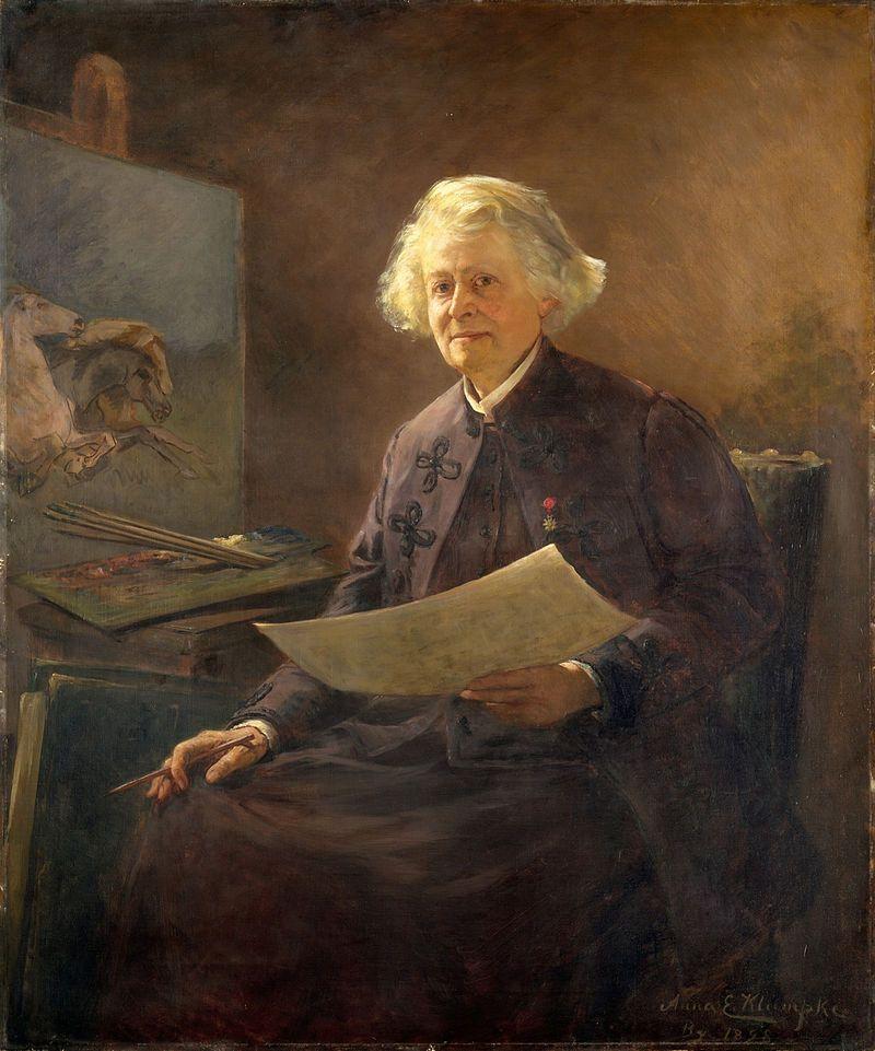 Inspirational Anna Klumpke Portrait of Rosa Bonheur Anna Klumpke u Wikip dia