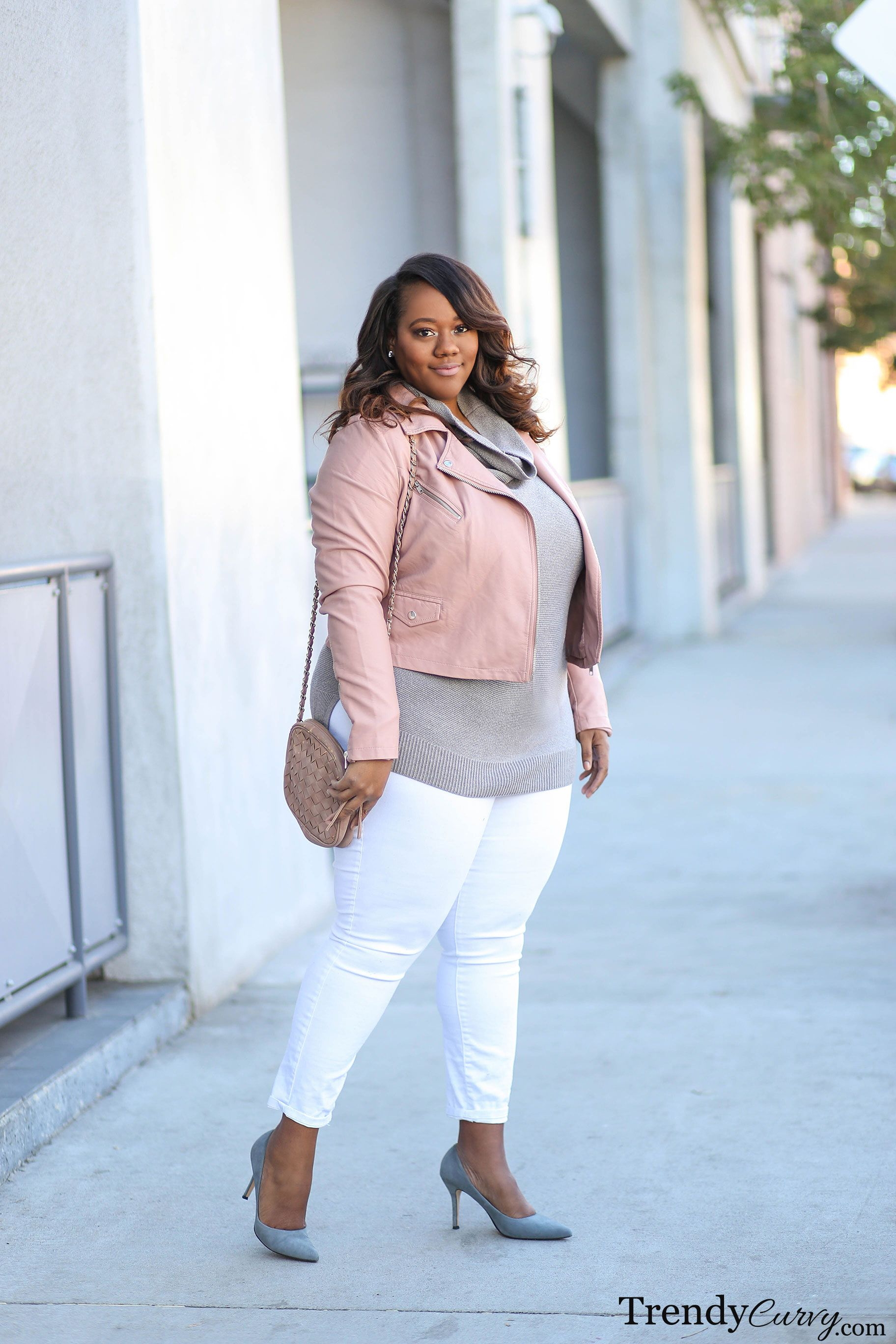 Curvy Figure Winter Stylish Plus Size Winter Outfits