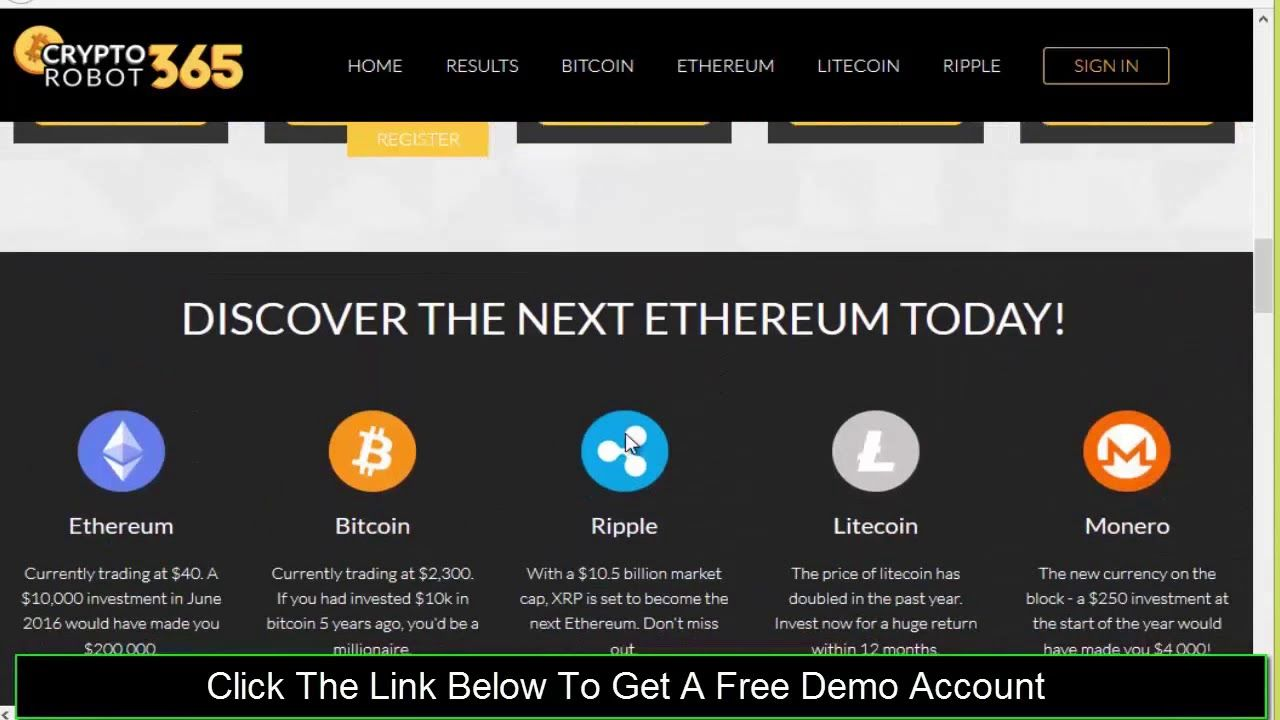Pin by Darwin Jonh Miller on Crypto Robot 365 Review Free