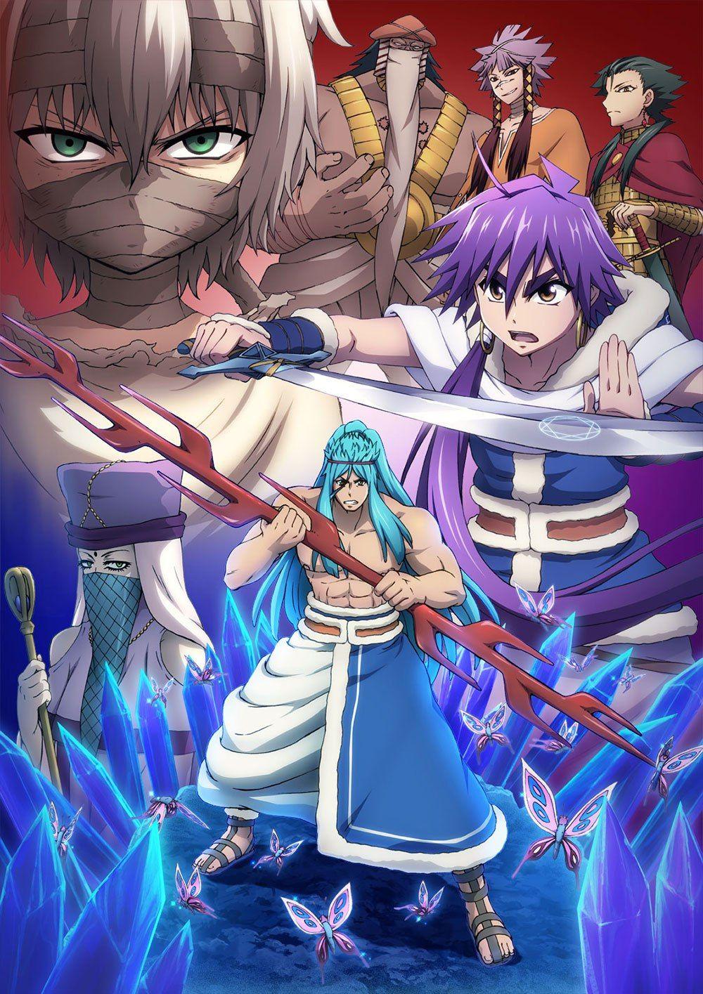 Magi Sinbad noBouken Desenho de anime