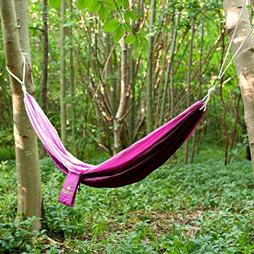 best travel camping hammock single lightweight high quality parachute nylon suitable for indooroutdoor backpacking festivals hiking best travel camping hammock single lightweight high quality      rh   pinterest