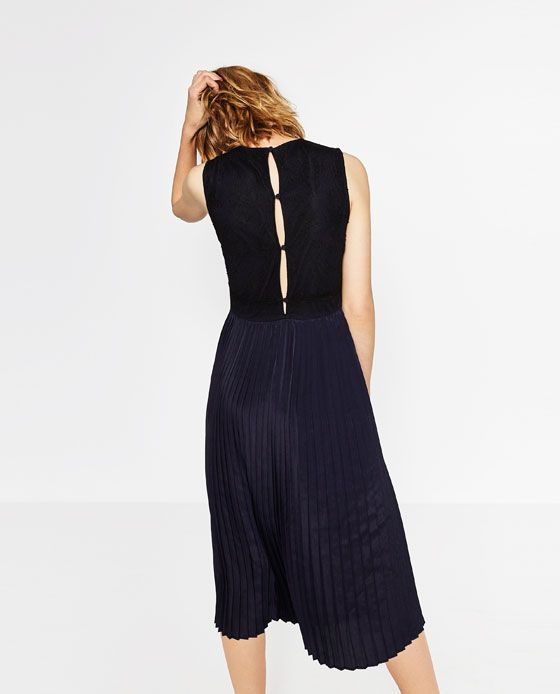 Image 3 of PLEATED DRESS from Zara