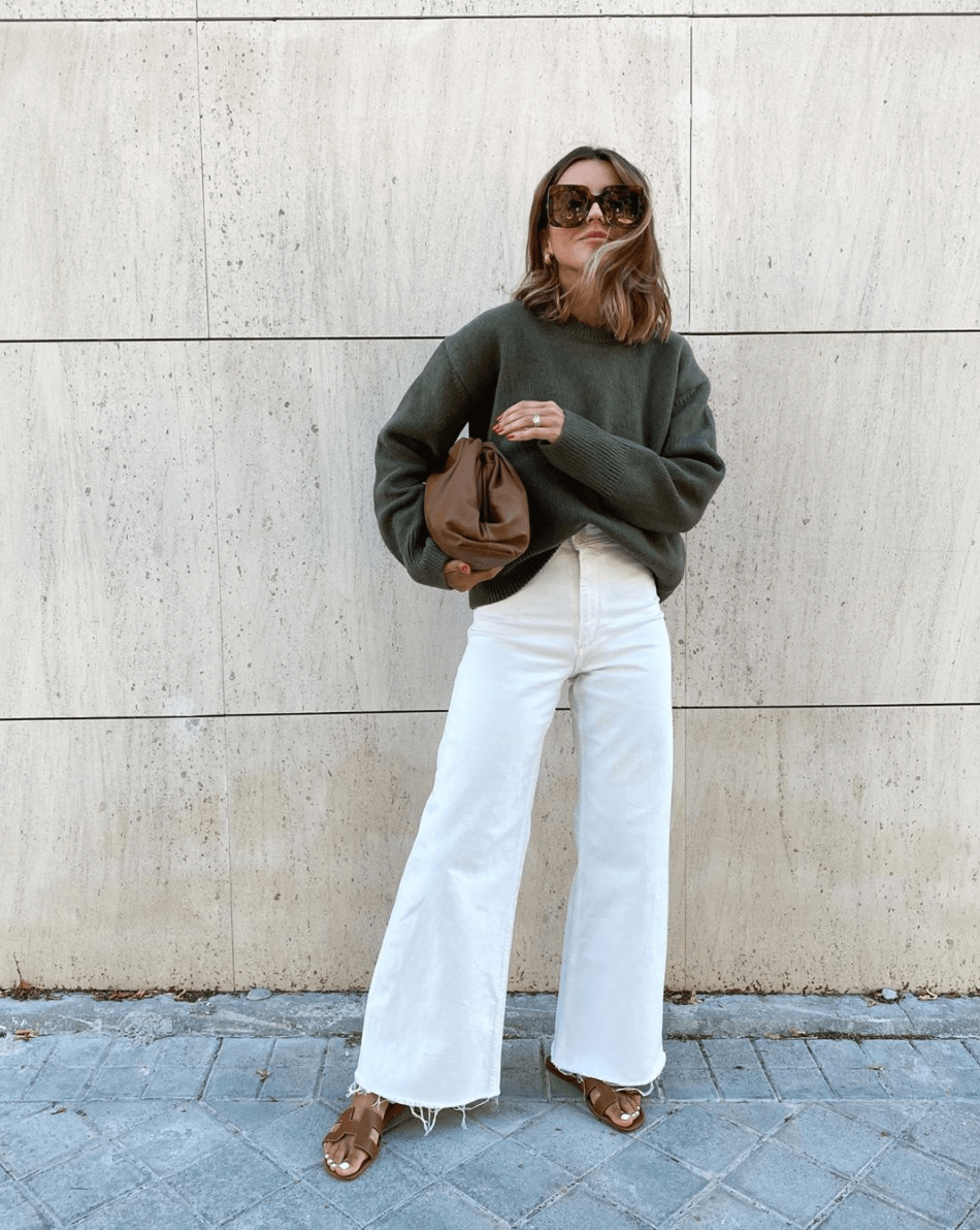Photo of A Chic Way To Transition Your Summer Denim Into Fall