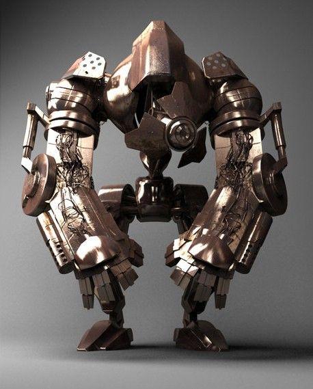 Pin by Chris Santangelo on Steam Bots | Model, Monkey