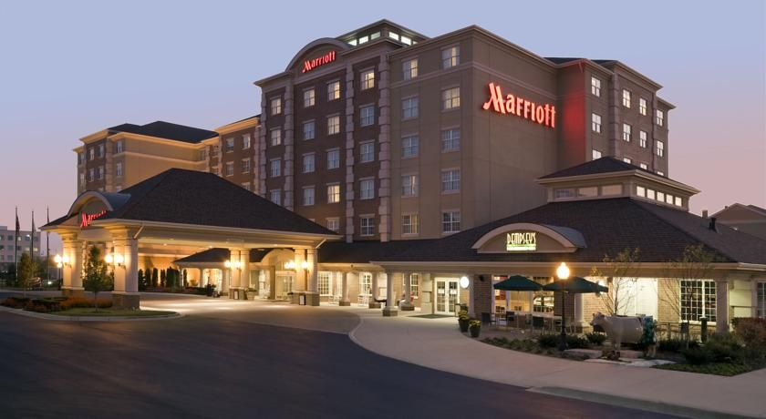Chicago marriott midway bedford park just 2 blocks from