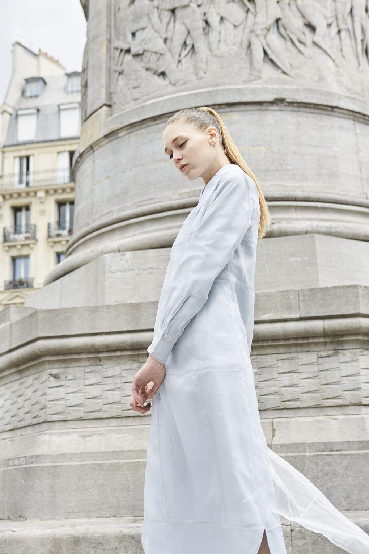 Webitorial: Through Her Window | Fashion Editorial: Azure