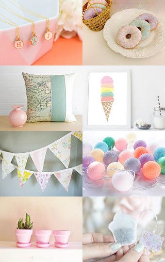 Pretty Pastels by Arla LaserWorks on Etsy--Pinned with TreasuryPin.com