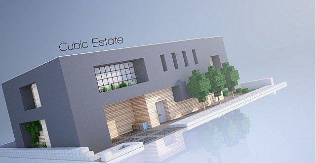 Cubic Estate 建築設計図 建築モデル 建築
