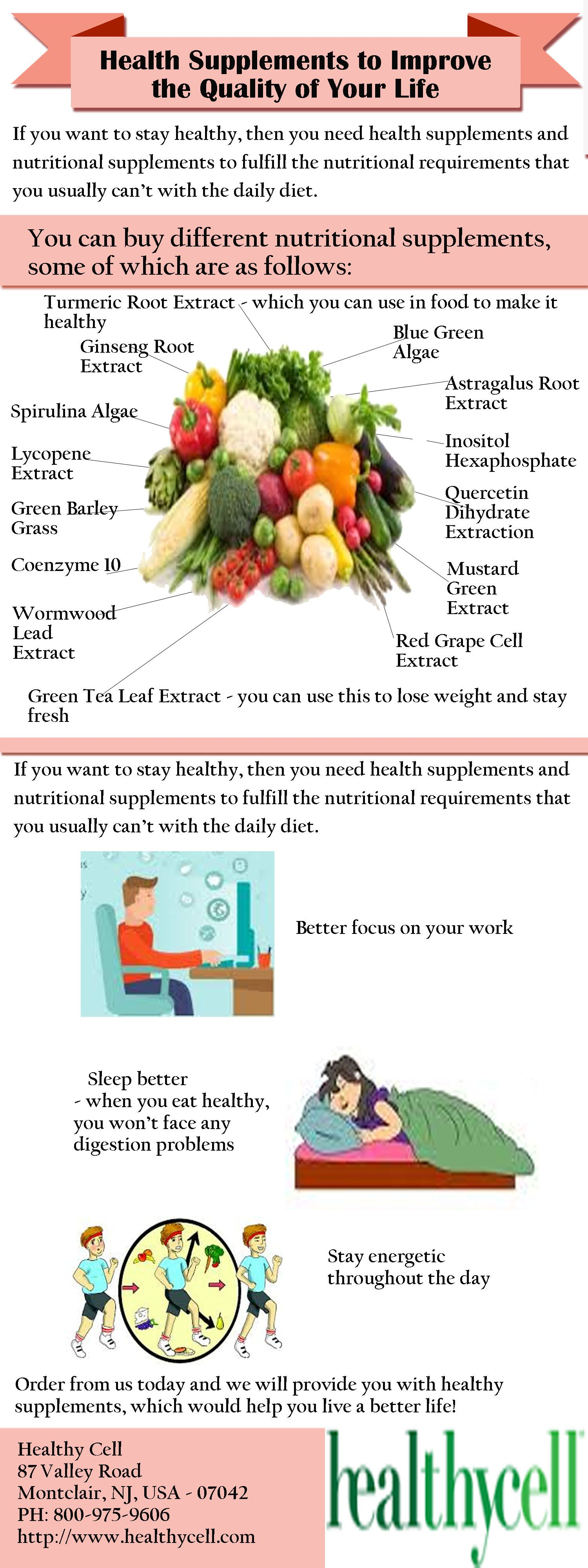 We know for a fact that if you improve your diet and eat healthy supplements, then you will be able to.Log on http://www.healthycell.com/