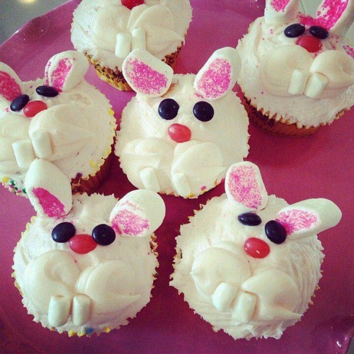 Bunny cupcakes!