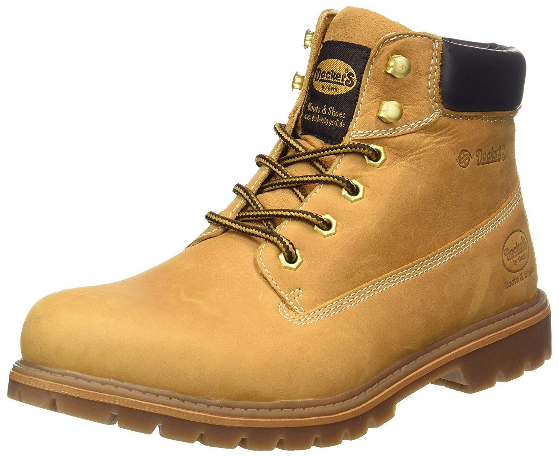 Dockers 35ca001, Botas Militar para Hombre, Beige (Golden